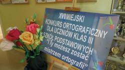 XVII Miejski Konkurs Ortograficzny -