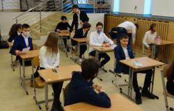 Egzaminy próbne ósmoklasistów