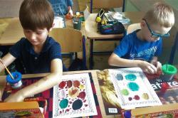 Międzynarodowy Dzień Kropki w klasie 1c