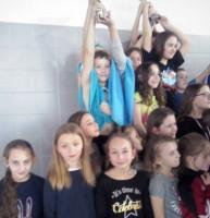 Zawody pływackie kl. 3-4