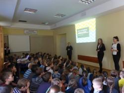 Wizyta wolontariuszki z programu Polska Pomoc