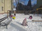 Zimowe zabawy klasy 3b